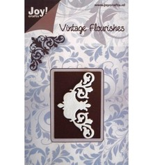 Joy!Crafts und JM Creation Cutting and embossing stencil template Mery flower structure. - Copy