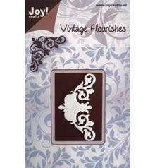 Joy!Crafts und JM Creation Taglio e goffratura stencil modello di struttura del fiore Mery. - Copia