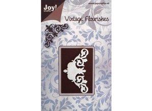 Joy!Crafts und JM Creation Alegría Crafts, corte y embutición stencil estructura floral Mery plantilla. - Copy