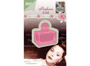 Joy!Crafts und JM Creation Joy Crafts, skæring og prægning stencil, rektangel parfume flaske, 53x56mm