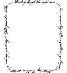 Stempel / Stamp: Transparent Clear stamps, Snow song