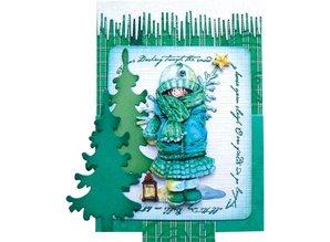 Stempel / Stamp: Transparent Marianne Design klare stempler, Snowsong