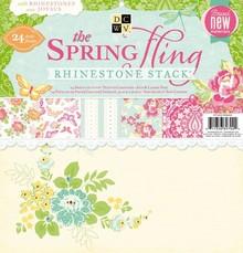 DCWV und Sugar Plum DCWV papirstakken rhine. Spring Fling, 30,5 X30, 5 cm, 24 ark