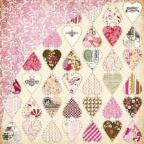 Kissing Booth, Heart breaker, Kis-3554, 30,5 x 30,5cm