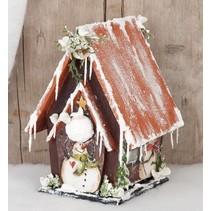 Birdhouses til udsmykning, træ,