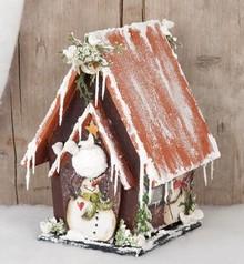 Objekten zum Dekorieren / objects for decorating Birdhouses til udsmykning, træ,