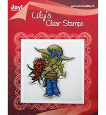 "Joy!Crafts und JM Creation Clear stamps, ""Lily Floral"""