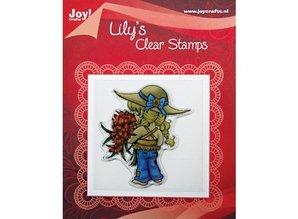 "Joy!Crafts und JM Creation Clear stamps, ""Lily Floral"""