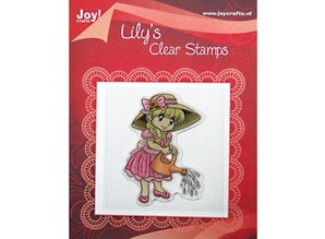 "Joy!Crafts und JM Creation Clear stamps, ""Lily with a watering can"""