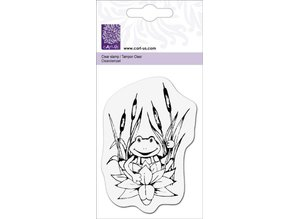 """Cart-Us Clear stamps, """"Frog on water lily"""""""
