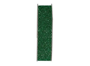 DEKOBAND / RIBBONS / RUBANS ... Papermania, Ribbon, Satin Glitter, green, 3 meters.