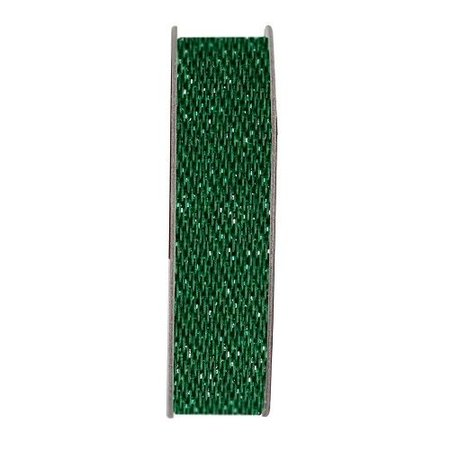DEKOBAND / RIBBONS / RUBANS ... Papermania, cinta, brillo satinado, verde, 3 metros.