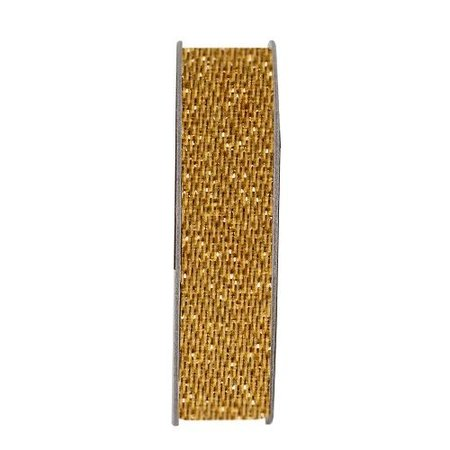 DEKOBAND / RIBBONS / RUBANS ... Paperrmania, Dekoband, Glitzer Satin, gold, 3 Meter.