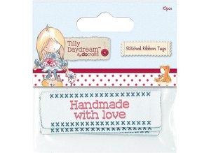 Embellishments / Verzierungen Papermania, etiquetas de cintas cosidas (10) - Tilly Daydream