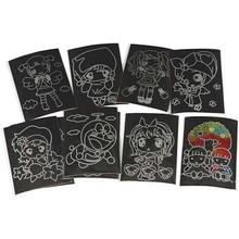 Kinder Bastelsets / Kids Craft Kits Scratch Images, 10x15 cm, 10 pieces