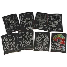 Kinder Bastelsets / Kids Craft Kits Scratch Immagini, 10x15 cm, 10 pezzi