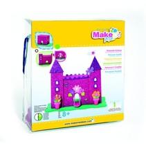 Bastelset, KitsforKids Moosgummi Glitter Schloss.