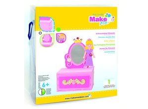 Kinder Bastelsets / Kids Craft Kits Craft Kit, KitsforKids Moosg.3D Prinzess.Schmuckdose.