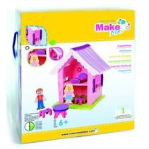 Bastelset, KitsforKids Moosg.3D Puppenhaus.