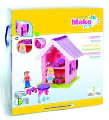 Kinder Bastelsets / Kids Craft Kits Craft Kit, KitsforKids Moosg.3D dukkehus.
