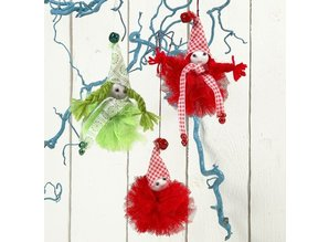 BASTELZUBEHÖR / CRAFT ACCESSORIES Practical tool for generating pompoms - Set of 4 Sizes