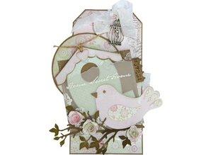Marianne Design Marianne Design, prægning og udskæring skabelon, Bird, COL1301
