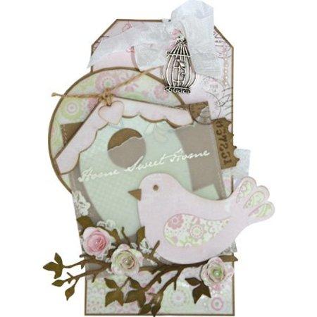 Marianne Design Marianne Design, Präge- und Schneideschablone, Vogel, COL1301