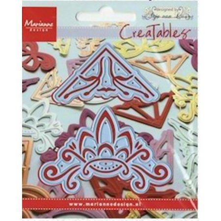 """Marianne Design Marianne Design Creatables """"hjørner 1"""", LR0143"""