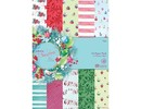 Docrafts / Papermania / Urban Writing Pad A5, 32 fogli, Natale, Natale A Lucy Cromwell