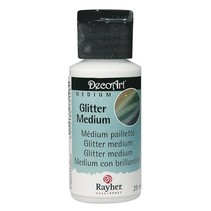 Glitter medium, 29 ml flaske
