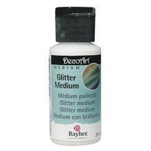 BASTELZUBEHÖR / CRAFT ACCESSORIES Glitter Medium, Flasche 29 ml