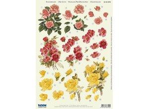 "BILDER / PICTURES: Studio Light, Staf Wesenbeek, Willem Haenraets 3D Die Fogli singoli: 3 diversi modelli ""Roses"""