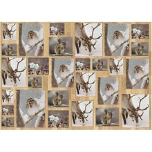 DECOUPAGE AND ACCESSOIRES Decoupage Carta, 25x35 cm, Oslo Natura 15, 10 fogli