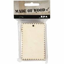 Objekten zum Dekorieren / objects for decorating Schild oder Herzform aus Holzfurnier mit gewellter Kante