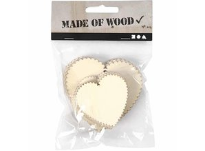 Objekten zum Dekorieren / objects for decorating Shield, 8x5, 2 cm, 8 pcs. Rectangle or heart shape size 7,5 x7, 5 cm, height 5,1 x5, 1 cm, thickness 3 mm