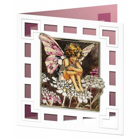 "BILDER / PICTURES: Studio Light, Staf Wesenbeek, Willem Haenraets 3D Die Cut sheet: ""Flower Angel"", 3 Designs"