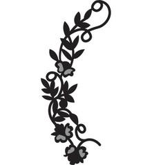 Marianne Design Prægning og Schneideshablone, Craftables blomsterkrans, CR1216