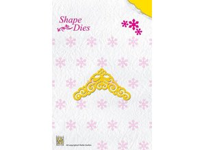 Nellie snellen Embossing and cutting template, corner
