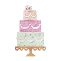 "Schneideshablone, Sizzix BigZ Die 658357 ""layered cake"""
