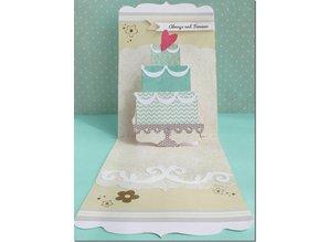 "Sizzix Schneideshablone, Sizzix Bigz 658357 The ""layered cake"""