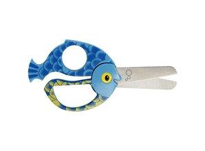 Kinder Bastelsets / Kids Craft Kits Children scissors with animal motif, selection of bee, ladybug, panda and fish.