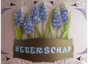 KARTEN und Zubehör / Cards Bastelbuch + 1 luxury card layout + 3D flowers