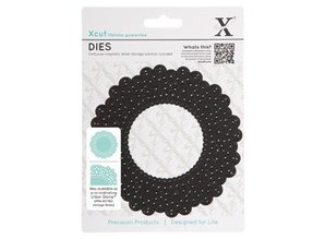 X-Cut / Docrafts This - Vintage Notes - Doily