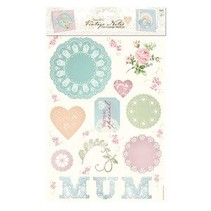 Medley Decoupage (2PK) - Vintage Notes - Mum