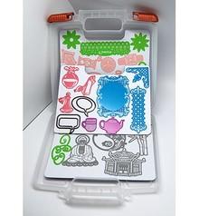 Joy!Crafts und JM Creation Ablagebox für Schablone + 3 Magnetbogen