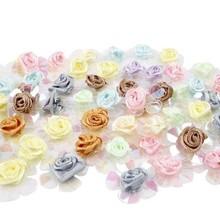 Embellishments / Verzierungen Paillet roser, sortiment, 20 stykker.