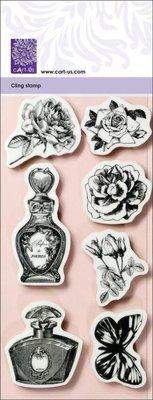 Cart-Us Sello de goma de la colección Vintage romántica,