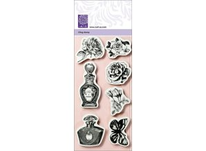 Cart-Us Rubber stamp from the Vintage Collection Romantic,