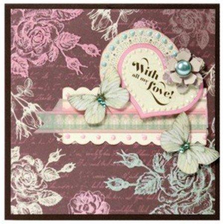 Cart-Us Adornos Vintage romántica