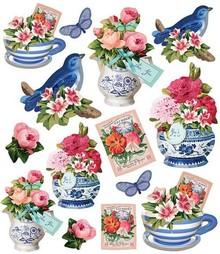 Tilda Tilda Stickers Summer Blues